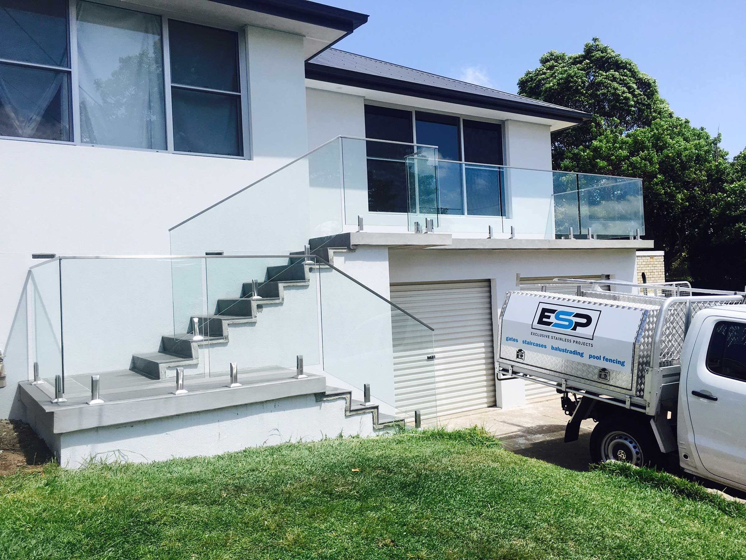 Exclusive Stainless Projects balustrade project