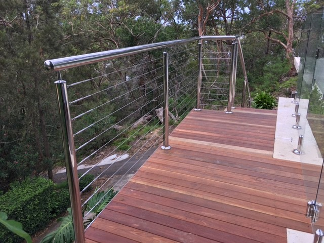 Illawong – Stainless steel wire balustrade